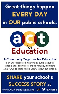 ACT for Education poster - click for larger image